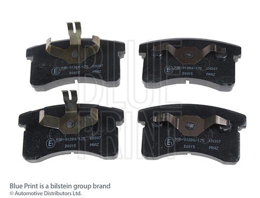 Kit de plaquettes de frein, frein à disque - BLUE PRINT - ADD64227