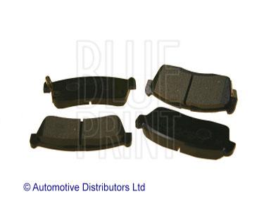 Kit de plaquettes de frein, frein à disque - BLUE PRINT - ADD64233