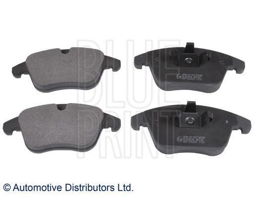 Kit de plaquettes de frein, frein à disque - BLUE PRINT - ADF124205