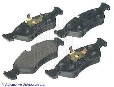 Kit de plaquettes de frein, frein à disque - BLUE PRINT - ADG04204