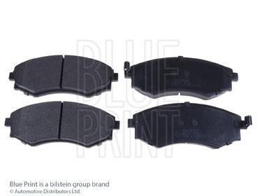 Kit de plaquettes de frein, frein à disque - BLUE PRINT - ADG04205