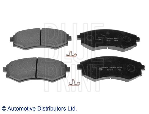 Kit de plaquettes de frein, frein à disque - BLUE PRINT - ADG042101