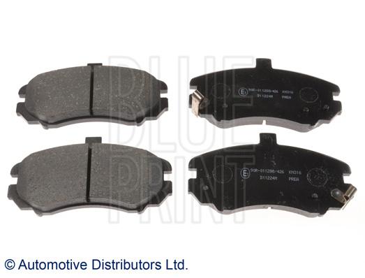 Kit de plaquettes de frein, frein à disque - BLUE PRINT - ADG042103