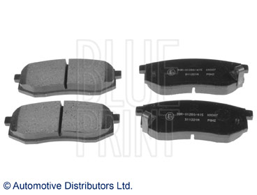 Kit de plaquettes de frein, frein à disque - BLUE PRINT - ADG042104