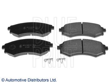 Kit de plaquettes de frein, frein à disque - BLUE PRINT - ADG042105