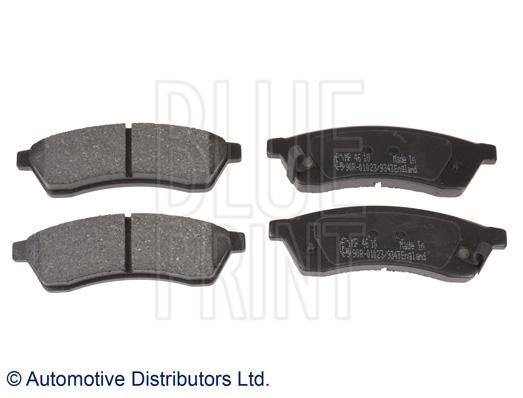 Kit de plaquettes de frein, frein à disque - BLUE PRINT - ADG042114