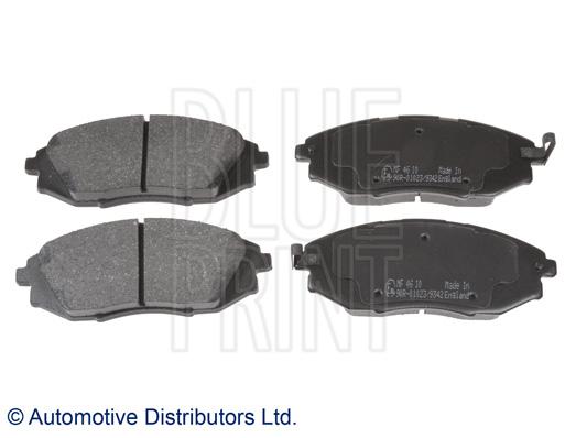 Kit de plaquettes de frein, frein à disque - BLUE PRINT - ADG042115