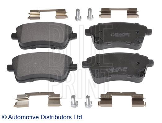 Kit de plaquettes de frein, frein à disque - BLUE PRINT - ADG042117