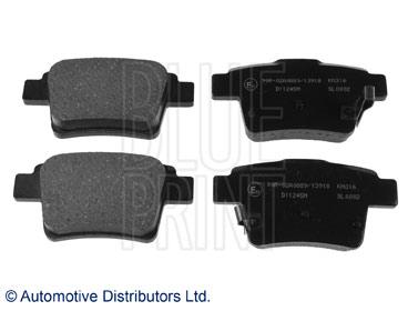 Kit de plaquettes de frein, frein à disque - BLUE PRINT - ADG042120