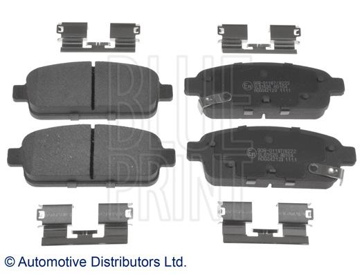 Kit de plaquettes de frein, frein à disque - BLUE PRINT - ADG042123