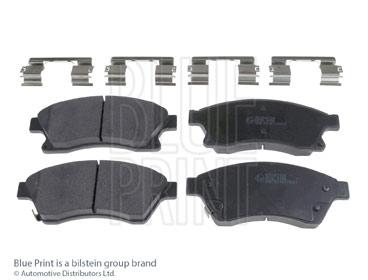 Kit de plaquettes de frein, frein à disque - BLUE PRINT - ADG042124