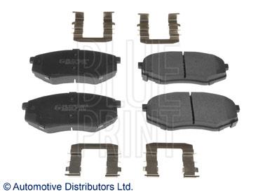 Kit de plaquettes de frein, frein à disque - BLUE PRINT - ADG042125