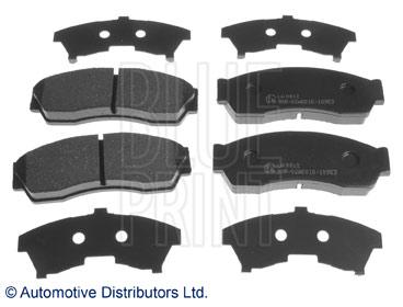 Kit de plaquettes de frein, frein à disque - BLUE PRINT - ADG042129