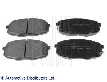 Kit de plaquettes de frein, frein à disque - BLUE PRINT - ADG042130