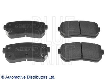 Kit de plaquettes de frein, frein à disque - BLUE PRINT - ADG042132