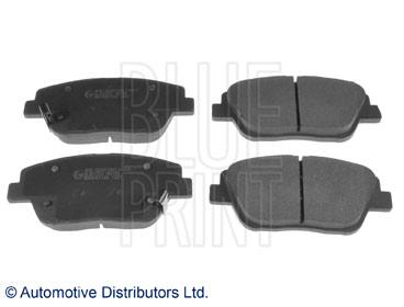 Kit de plaquettes de frein, frein à disque - BLUE PRINT - ADG042133