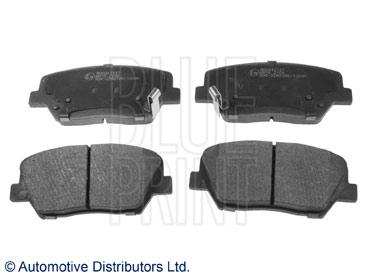 Kit de plaquettes de frein, frein à disque - BLUE PRINT - ADG042137