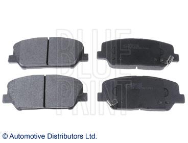 Kit de plaquettes de frein, frein à disque - BLUE PRINT - ADG042140