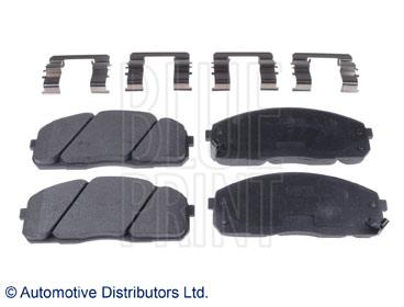 Kit de plaquettes de frein, frein à disque - BLUE PRINT - ADG042142