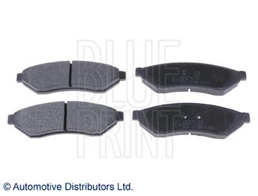 Kit de plaquettes de frein, frein à disque - BLUE PRINT - ADG042144