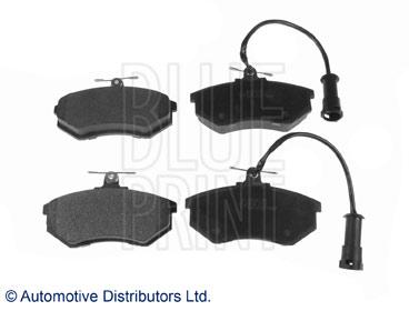 Kit de plaquettes de frein, frein à disque - BLUE PRINT - ADG042145
