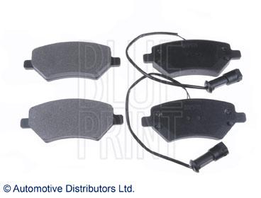 Kit de plaquettes de frein, frein à disque - BLUE PRINT - ADG042146