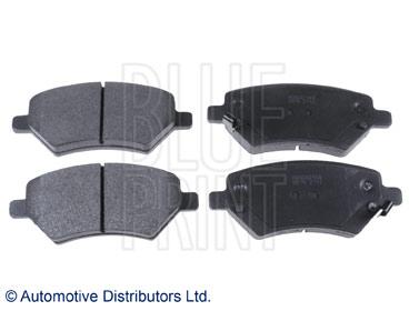Kit de plaquettes de frein, frein à disque - BLUE PRINT - ADG042148