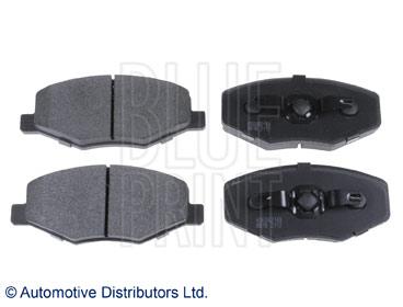 Kit de plaquettes de frein, frein à disque - BLUE PRINT - ADG042149