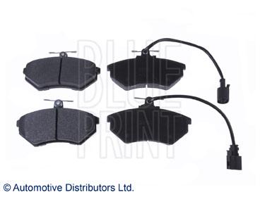 Kit de plaquettes de frein, frein à disque - BLUE PRINT - ADG042151