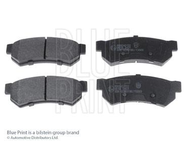 Kit de plaquettes de frein, frein à disque - BLUE PRINT - ADG042152