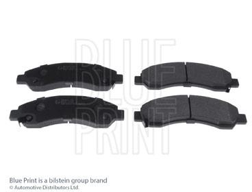 Kit de plaquettes de frein, frein à disque - BLUE PRINT - ADG042156