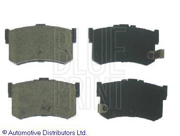 Kit de plaquettes de frein, frein à disque - BLUE PRINT - ADG04217