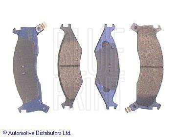 Kit de plaquettes de frein, frein à disque - BLUE PRINT - ADG04225