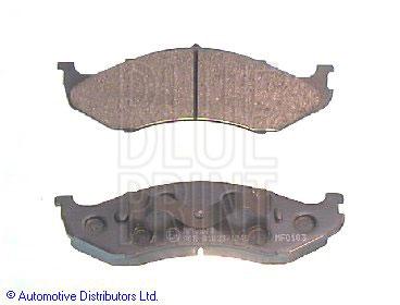 Kit de plaquettes de frein, frein à disque - BLUE PRINT - ADG04229