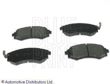 Kit de plaquettes de frein, frein à disque - BLUE PRINT - ADG04233