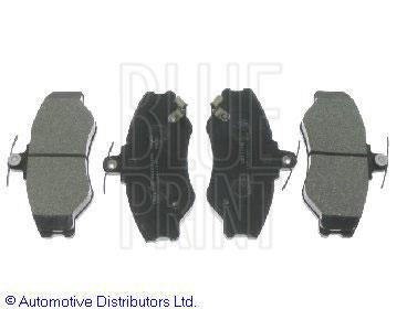 Kit de plaquettes de frein, frein à disque - BLUE PRINT - ADG04234