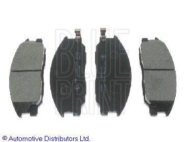 Kit de plaquettes de frein, frein à disque - BLUE PRINT - ADG04239