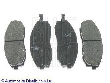 Kit de plaquettes de frein, frein à disque - BLUE PRINT - ADG04240