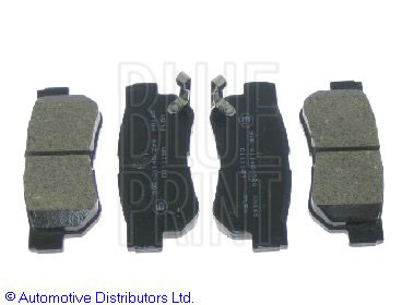 Kit de plaquettes de frein, frein à disque - BLUE PRINT - ADG04249