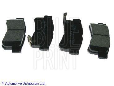 Kit de plaquettes de frein, frein à disque - BLUE PRINT - ADG04250