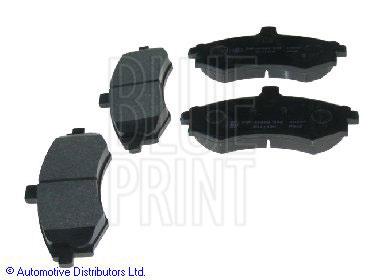 Kit de plaquettes de frein, frein à disque - BLUE PRINT - ADG04252