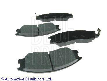 Kit de plaquettes de frein, frein à disque - BLUE PRINT - ADG04255