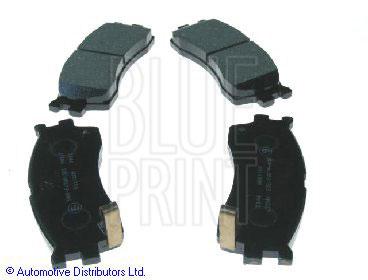 Kit de plaquettes de frein, frein à disque - BLUE PRINT - ADG04256