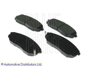 Kit de plaquettes de frein, frein à disque - BLUE PRINT - ADG04258