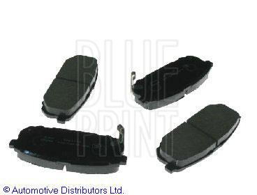 Kit de plaquettes de frein, frein à disque - BLUE PRINT - ADG04259