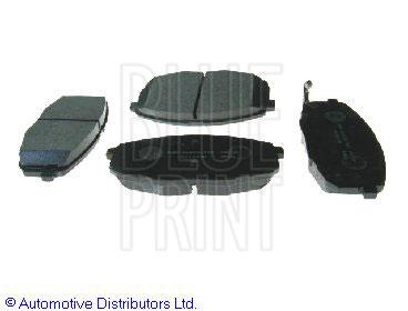 Kit de plaquettes de frein, frein à disque - BLUE PRINT - ADG04261