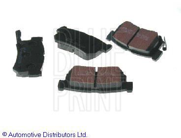 Kit de plaquettes de frein, frein à disque - BLUE PRINT - ADG04262
