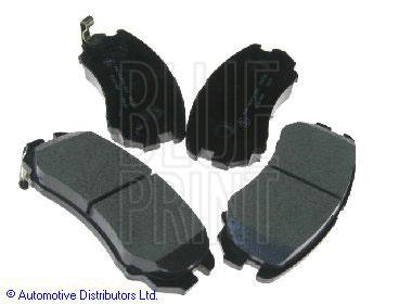 Kit de plaquettes de frein, frein à disque - BLUE PRINT - ADG04263