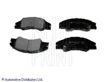 Kit de plaquettes de frein, frein à disque - BLUE PRINT - ADG04265
