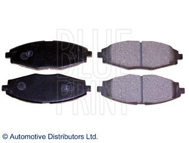 Kit de plaquettes de frein, frein à disque - BLUE PRINT - ADG04268